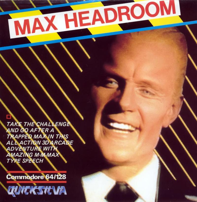 Max Headroom game ad