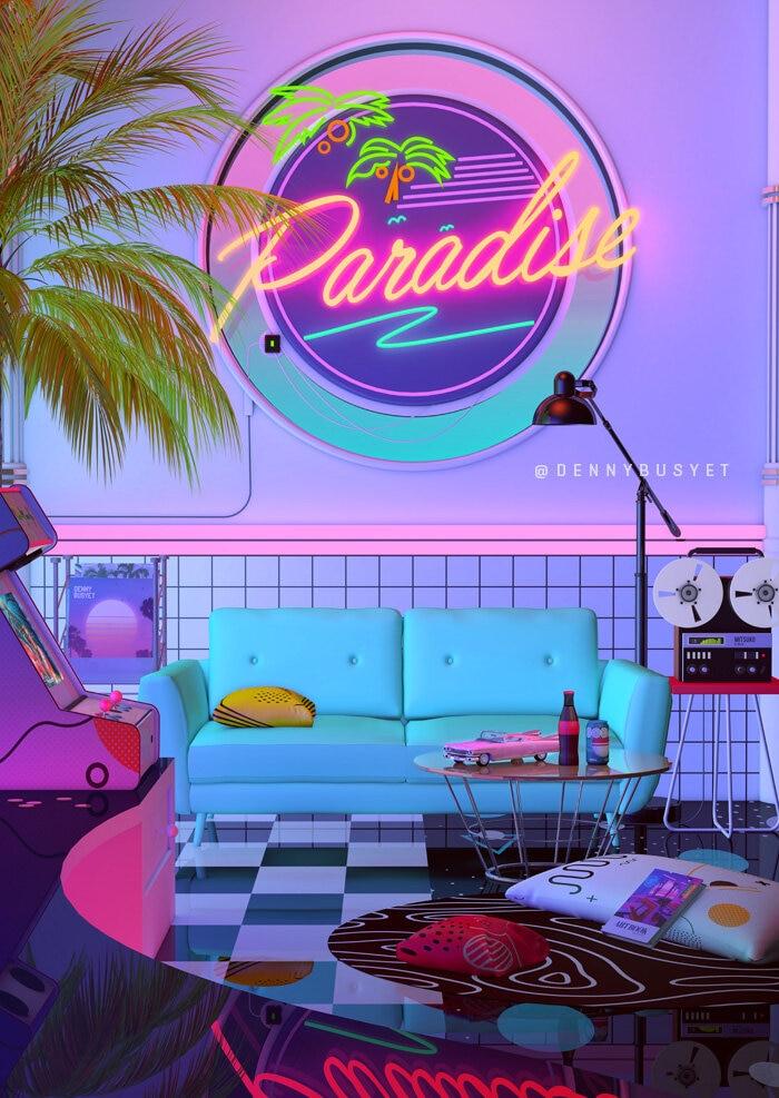 Paradise, by Denny Busyet